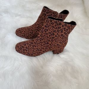 Lane Bryant Block Heel Square Toe Boots